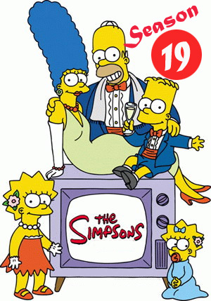 Симпсоны \ The Simpsons 19 сезон